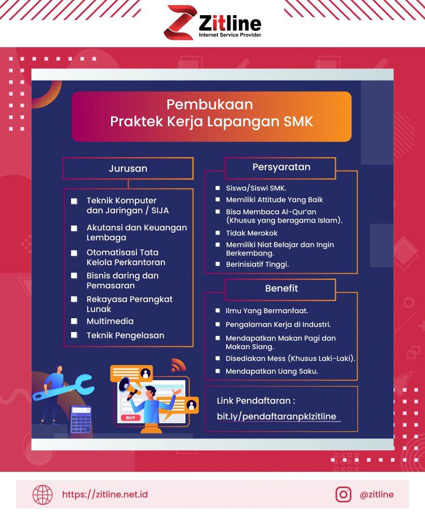 Pembukaan Praktek Kerja Lapangan SMK di PT ARAZ INTI LINE (Zitline) 2021 Zitline